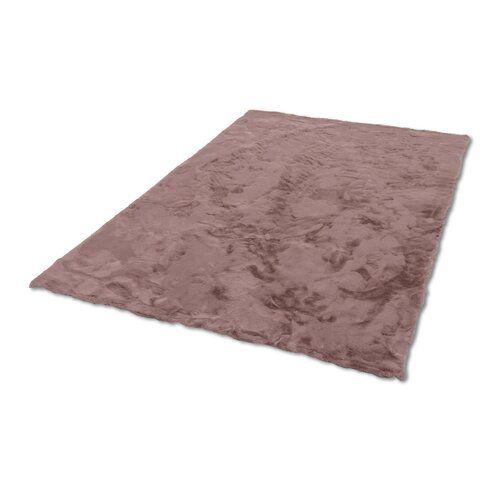 Schoner Wohnen Kollektion Tender Faux Fur Polyester Pink Rug Pink Rug Carpet Size Rugs