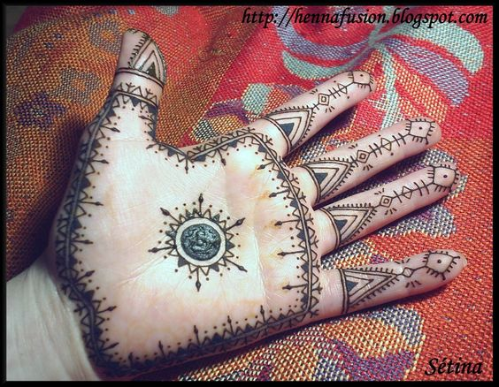 motif Maroc HENNÉ # motif native