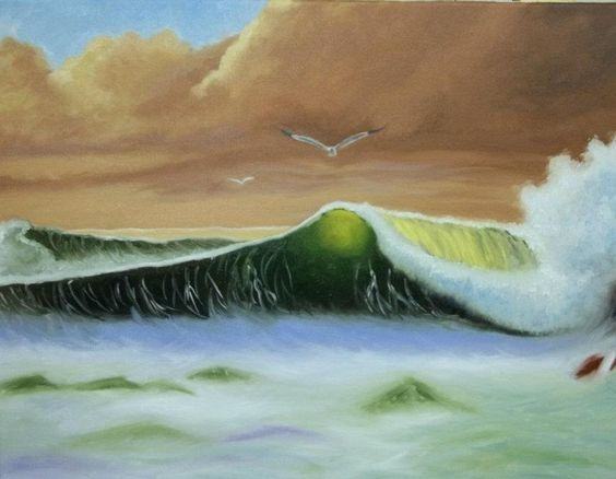 Mar, Oleo  Carina Malarchia