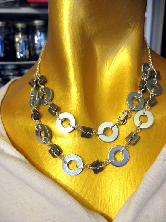 B.B. Bellezza Handcrafted Jewelry and Tutorials: New Hardware Jewelry - Sneak Peek at the Fall Line