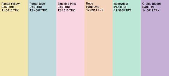 Candy Colors ou Tons Pastel são tendência Primavera e Verão 2019