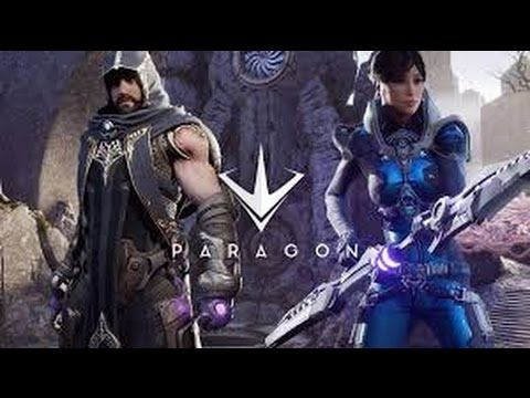 Paragon Open Betan - fantasy action game created by a single person - trailer
