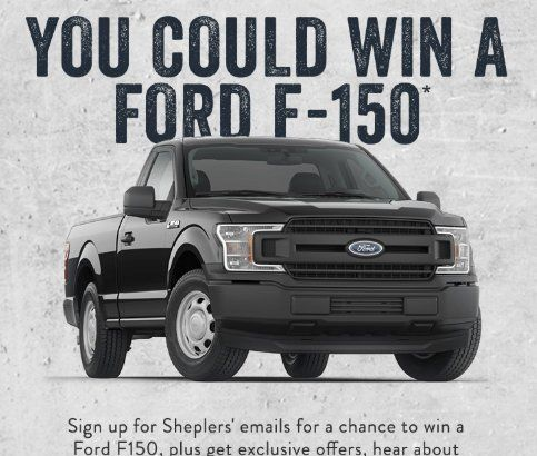 Win A 3 Year Lease Of A Ford F 150 Awarded As 12 000 00 Check