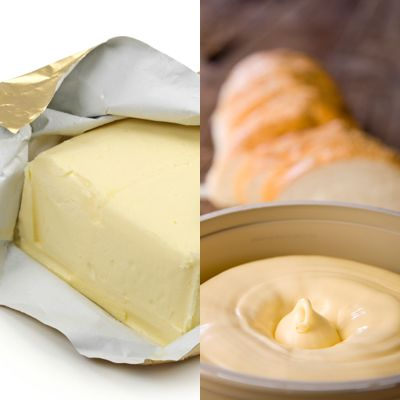 Ditch the butter for margarine spread - 10 Easy Food Swaps That Curb Cholesterol, Not Taste - Health Mobile+