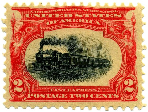 Codex Philately: The 2 cent Fast Express rose carmine and black / Le 2 cent…