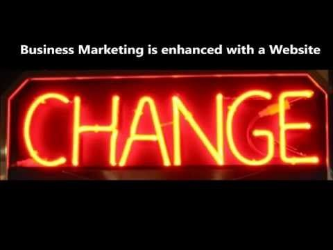 Business Marketing is enhanced with a Website