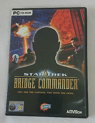 STAR TREK BRIDGE COMMANDER  PC (VERY GOOD CONDITION)