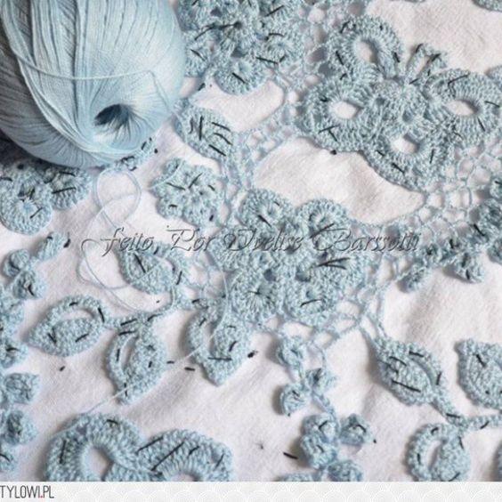 ..o trabalho é feito assim.. de grão em grão.... Amaor no que se faz.. ótimo sábado a todos #irishcrochetlace #irishcrochet #croche #paixão #luxury #crocheirlandes #renda #handmade