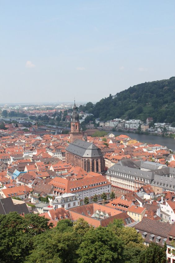 Those roofs... That view... Heidelberg. The must-visit city for an inspiration and good feelings.