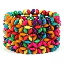 http://www.artisanfairtrade.com/amazon-eco-friendly-seed-beaded-bracelet-2-5-wide-adjustable/
