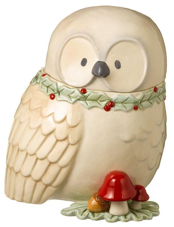 Cookie Jars Owl Cookie Jars And Jars On Pinterest