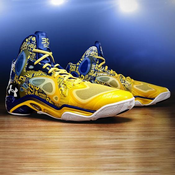 """Hard work led to Stephen Curry being in """"The Zone."""" Celebrate his 54 point MSG outburst with this Anatomix Spawn PE"""