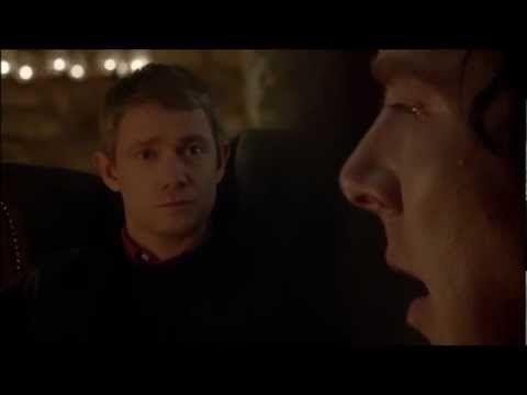 Sherlock: I saw it too, a gigantic hound