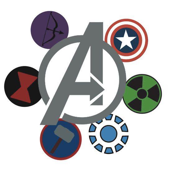 Black Widow Symbol Avengers
