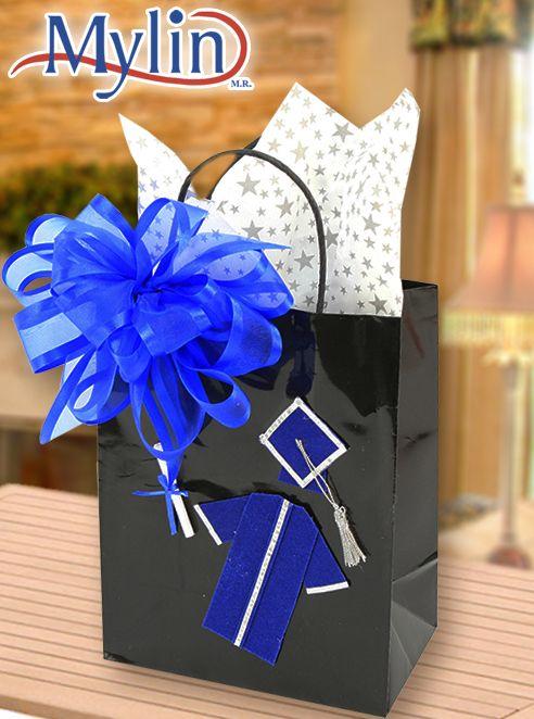 Bolsa de regalo para graduado regalo para graduaci n - Bolsas para decorar ...