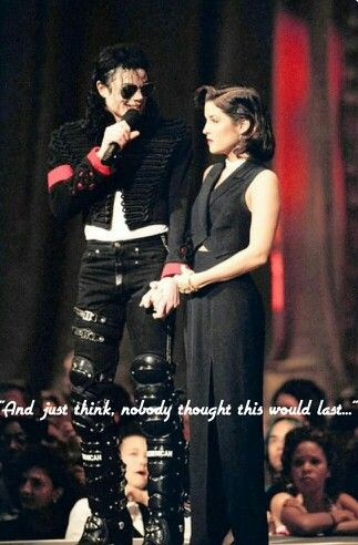 Iconic true love quotes. So romantic.. Michael Jackson, Lisa Marie Presley.  Funny sarcastic love quotes. Haha love it!