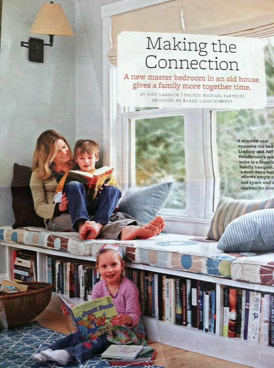 Jouets livres and fen tre on pinterest for Banquette sous fenetre