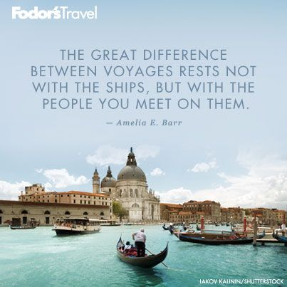 Travel Quote Of The Week On Great Voyages  Wanderlust