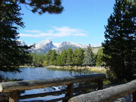 Estes Park, Colorado. I miss living in Colorado. We went to Estes park twice a year!