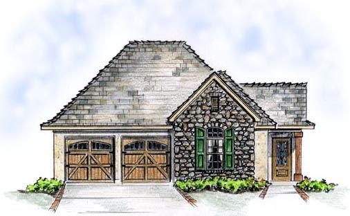 Bungalow Cottage European House Plan 56509 European