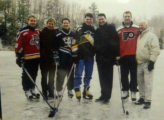 How amazing is this picture? (Bure, Gretzky, Kariya, Jagr, Lemieux, Lindros, Howe). @Mackenzie Peterson - this one is for your Dad (repost for him).  He is the only one that could appreciate this as much as I do.