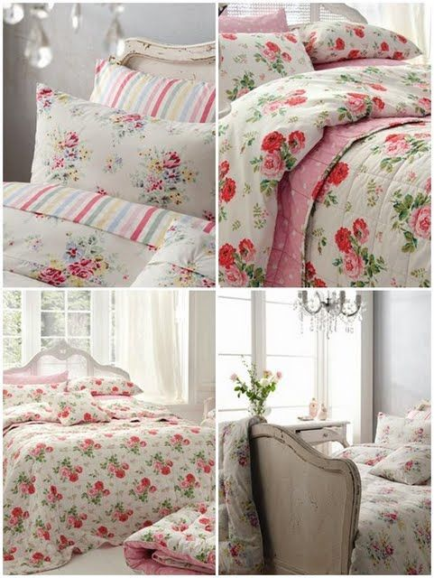 Cath kidston floral linens that i use in my bedrooms in my for Cath kidston bedroom ideas