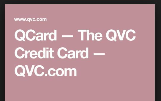 Qvc Credit Card Phone Number With Images Credit Card