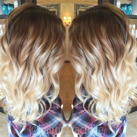 Hair Styles Ideas Ombre Hair Is Still One Of The Hottest Trends From Blonde Ombre Style To Black Hair Styles Ombre Hair Blonde Ombre Hair
