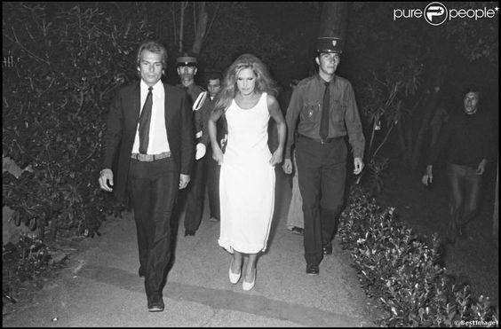 Dali avec Richard Chanfray à Saint-Tropez en 1974.