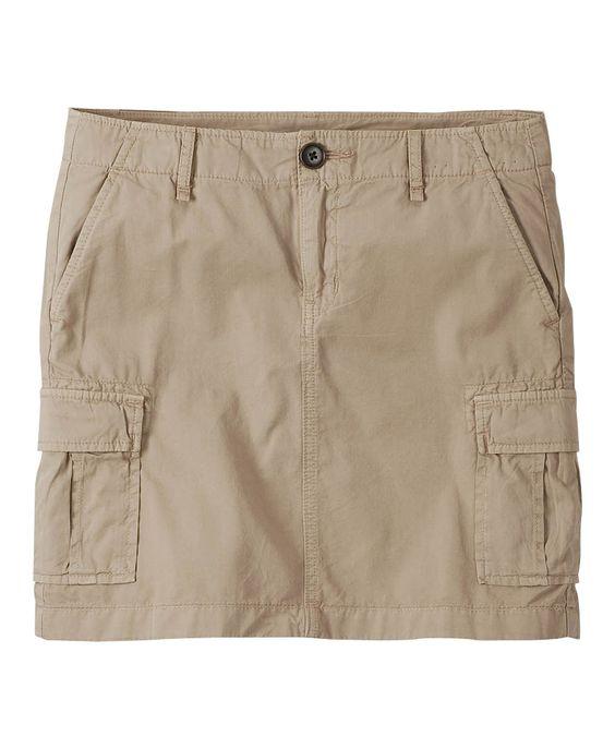 Women's Cargo Mini Skirt- UNIQLO