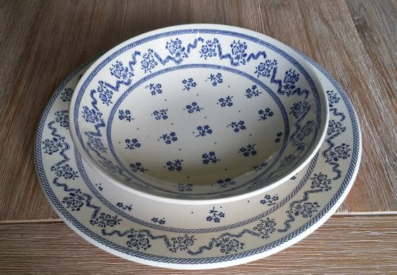 Service assiettes plates et creuses Laura Ashley par PasseActuel