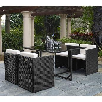Conjunto 1 Mesa e 4 Cadeiras MLM-210010
