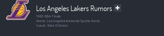 Who's injured? Who's traded? Who's drafted? What's going on with free agents and transfers? Stay on top of Los Angeles Lakers rumors and find out who's saying what. We bring you the latest NBA Basketball rumors from the local sports reporters