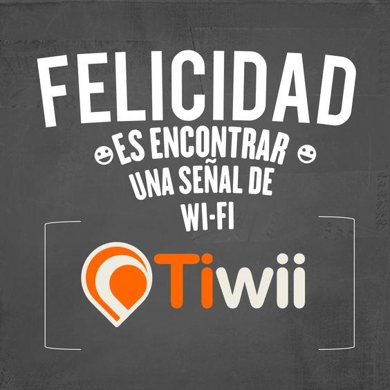 La felicidad cuando encuentras Wifi deTiwii