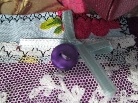 Vintage Fabric Cuff Bracelet