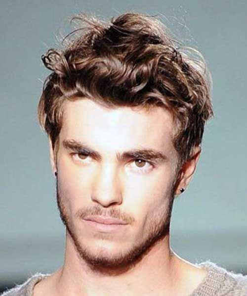 Frisuren Manner Welliges Haar Frisurentrends Wavy Hair Men Curly Hair Men Thick Hair Styles