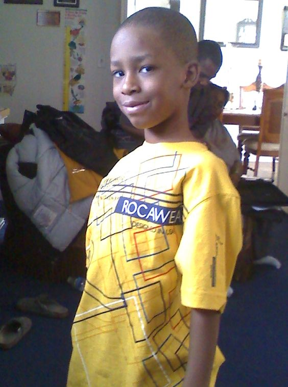 My oldest son 3yrs ago