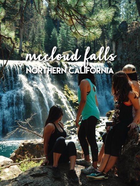 McCloud Falls in Northern California