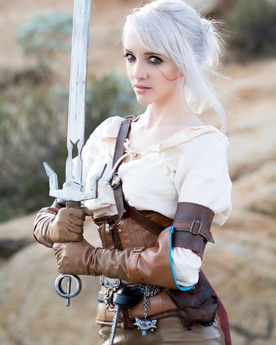First #Ciri photo from the shoot I did today with @carlosgphotos   #witcher3 #witcher #cosplay by lyzbrickley