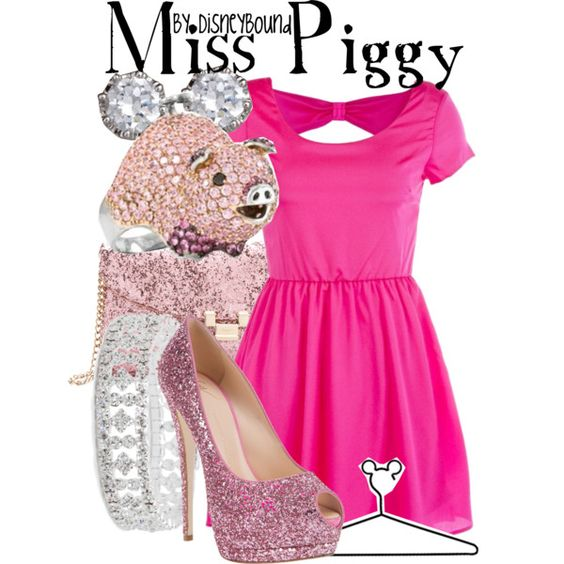 """""""Miss Piggy"""" by lalakay on Polyvore #disney"""