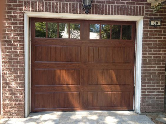 Clopay gallery collection grooved panel steel garage for Clopay steel garage doors