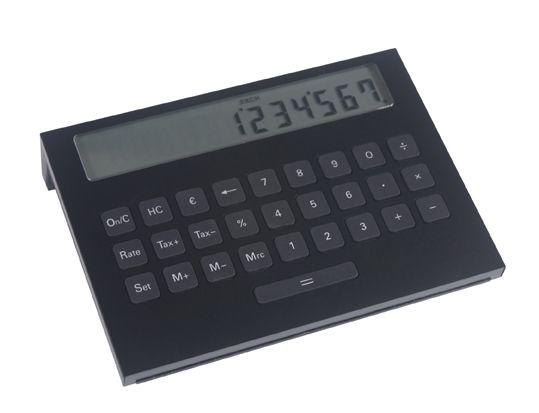 Lexon Boxit Calculator in Black - LC67-NN1