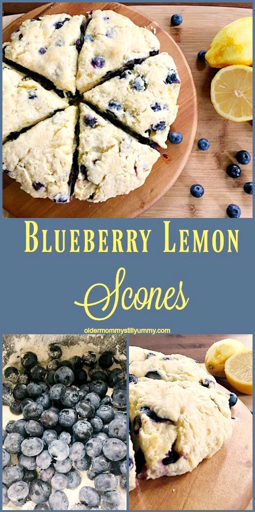 Blueberry And Lemon Scones Recipe Lemon Scones Scones Sour Cream Blueberry Muffins