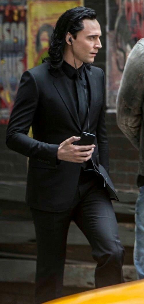 Loki In Black Suit Loki Loki Wallpaper Tom Hiddleston Loki