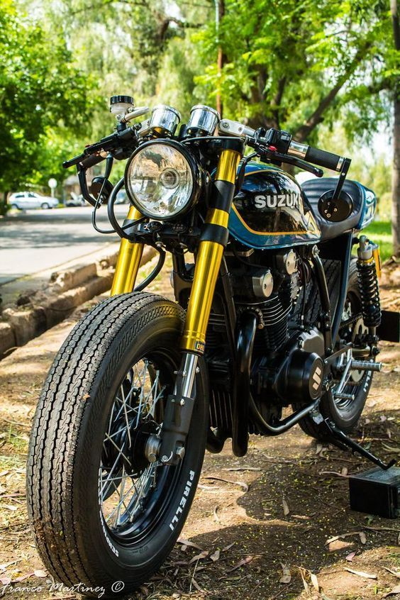 Caferacer And Hotrod Moment Japan Suzuki Gs400 Cafe Racer