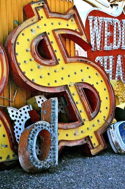 Type Inspiration from the Neon Museum / Boneyard in Las Vegas: