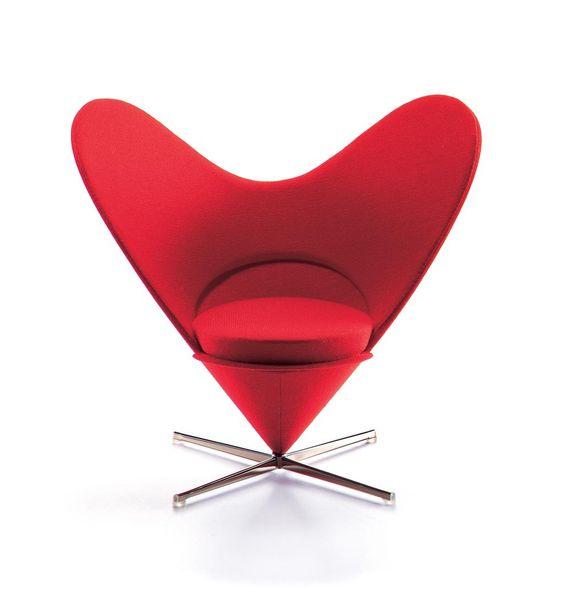 Vitra // Heart Cone Chair At Room For Living #vitra, #sofa, #heart,  #design, #designklassiker | Design Klassiker | Pinterest | Designklassiker  Und Designs