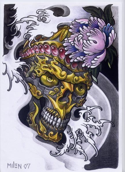 Terror Japanese Tattoo Art Tattoo Illustration Japanese Tattoo Designs