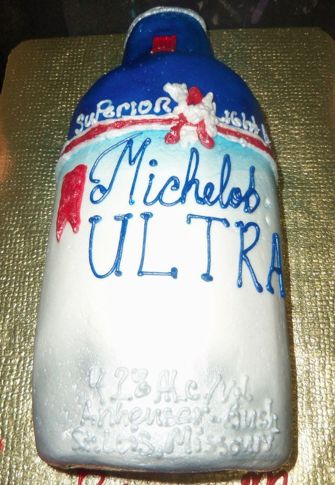 Michelob Ultra Beer Bottle Cake Cakes Amp Other Sweet