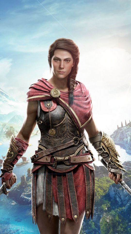 Kassandra Assassin S Creed Odyssey Girl Warrior 540x960